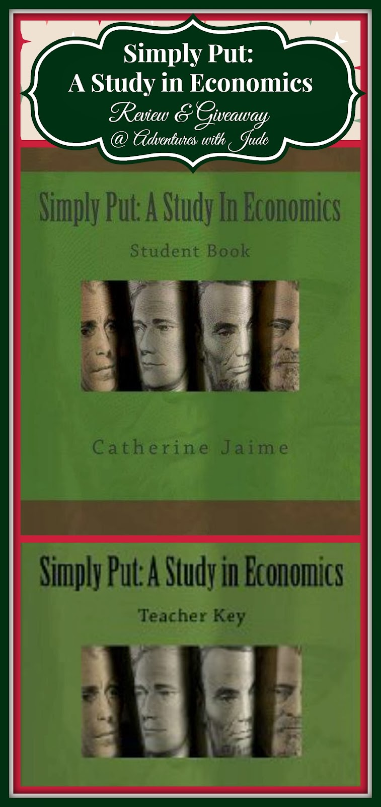 adventures with jude  simply put  a study in economics  a