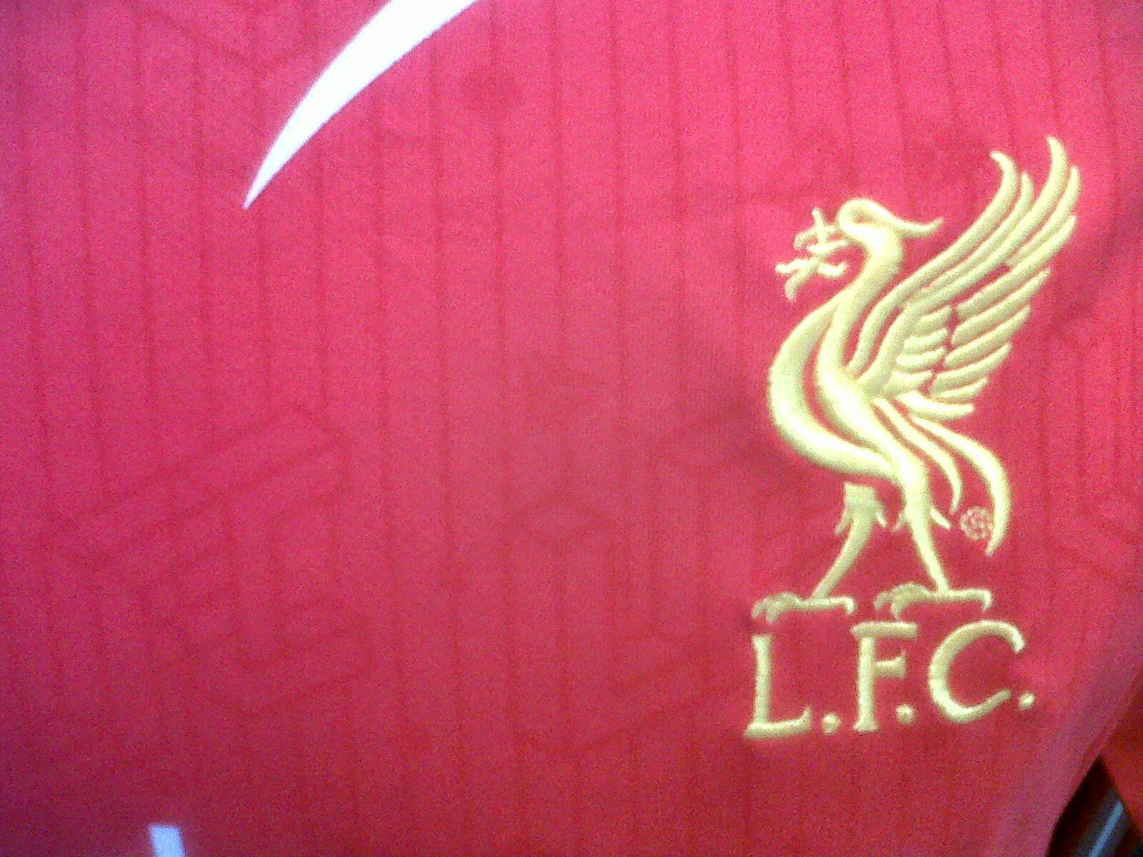 Detail Jersey Liverpool Home 2014/2015