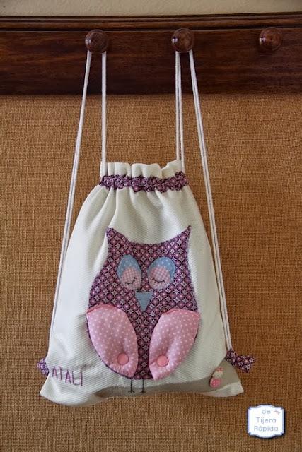 bolsa para merienda infantil