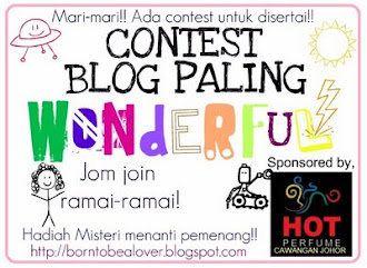 Contest Blog Paling Wonderful