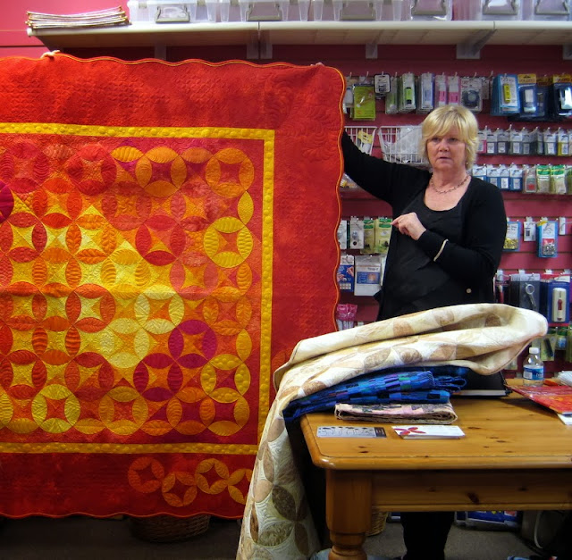 Long Arm Quilting Demonstration