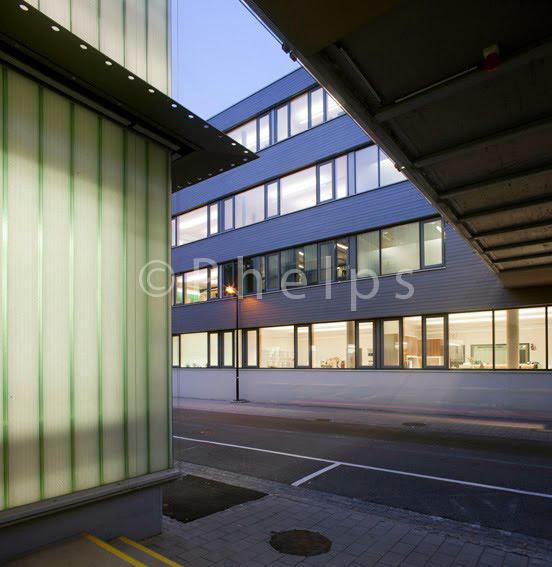HTBLA Hallein - Arch. Mack+Sorg - Foto Andrew Phelps