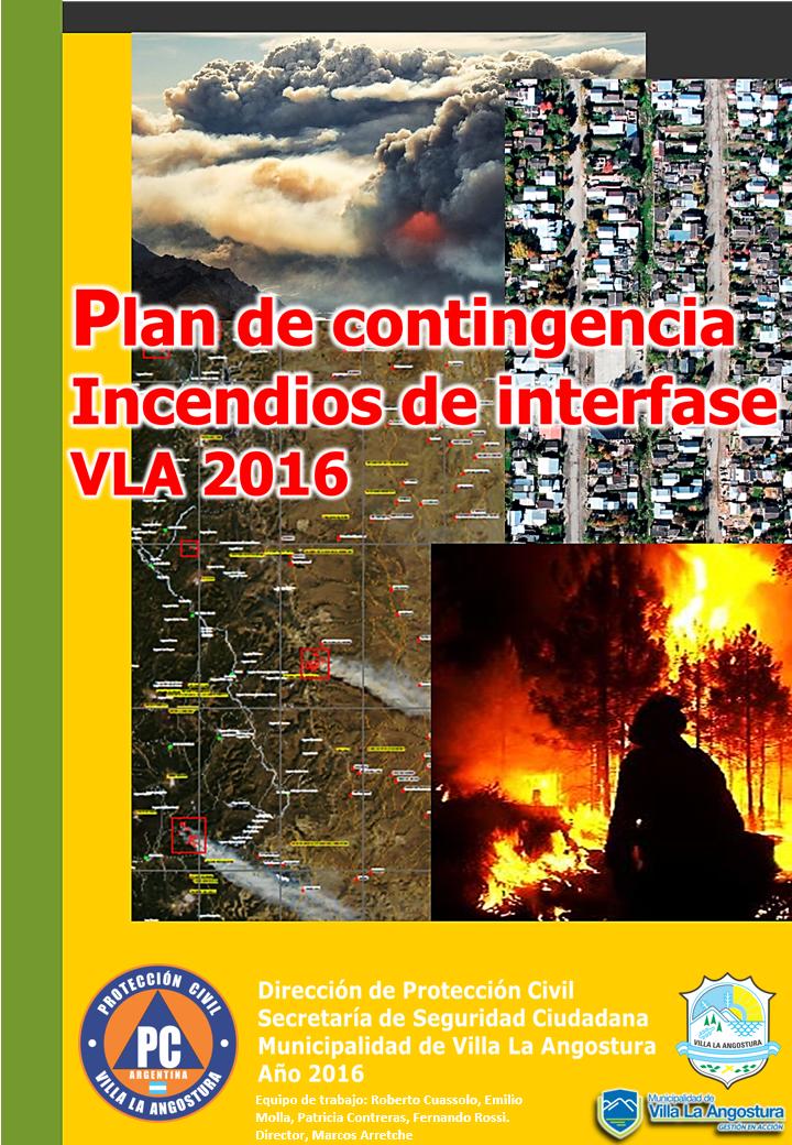 Plan de contingencia ante incendios de interfaz