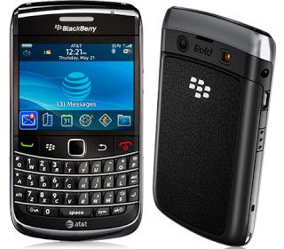 Membuat dan setting email pada blackberry