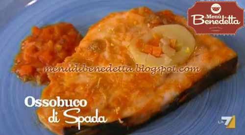 Ricette della torta ossobuco di pesce spada ricetta for Cucinare ossobuco