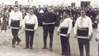 DANZANTES VERA DE MONCAYO. Año 1965
