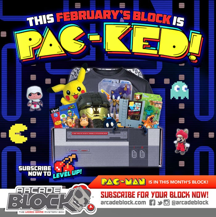 Subscribe To Arcade Block