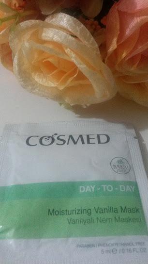 cosmed vanilyalı nem maskesi