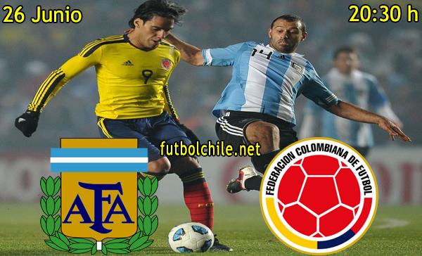 Argentina vs Colombia - Copa América - 20:30 h - 26/06/2015