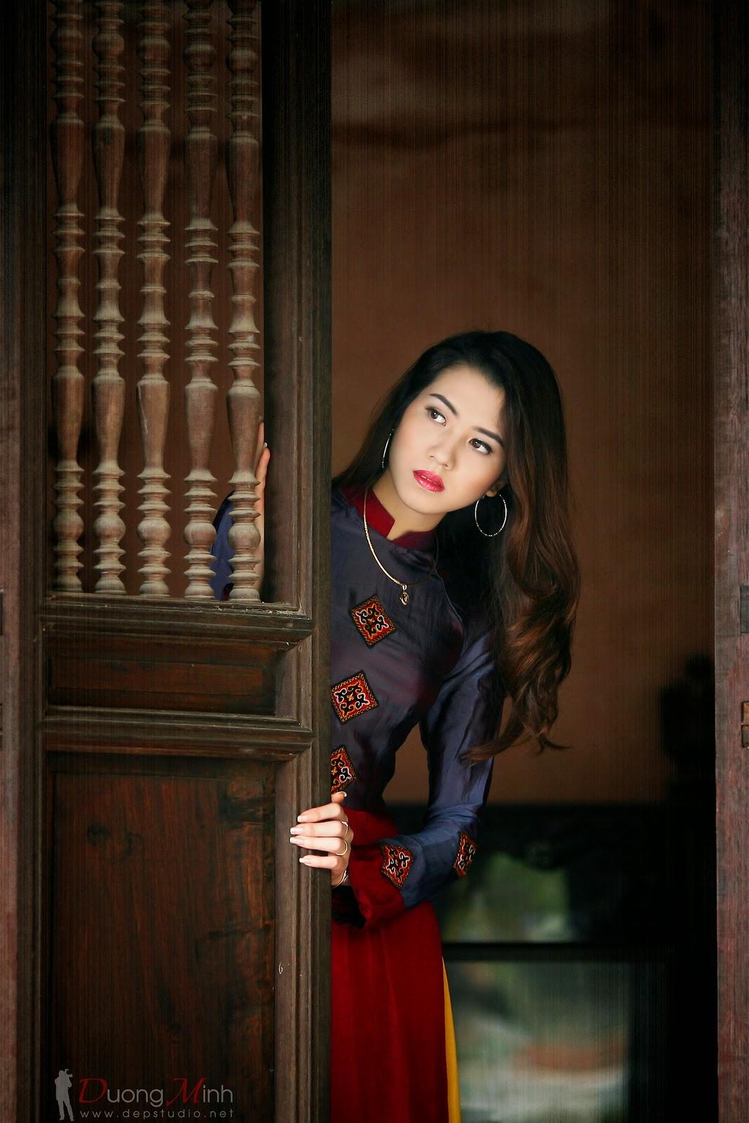Ảnh đẹp girl xinh Áo dài truyền thống Việt Nam - Ảnh 31