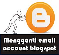 cara mengganti email blogspot