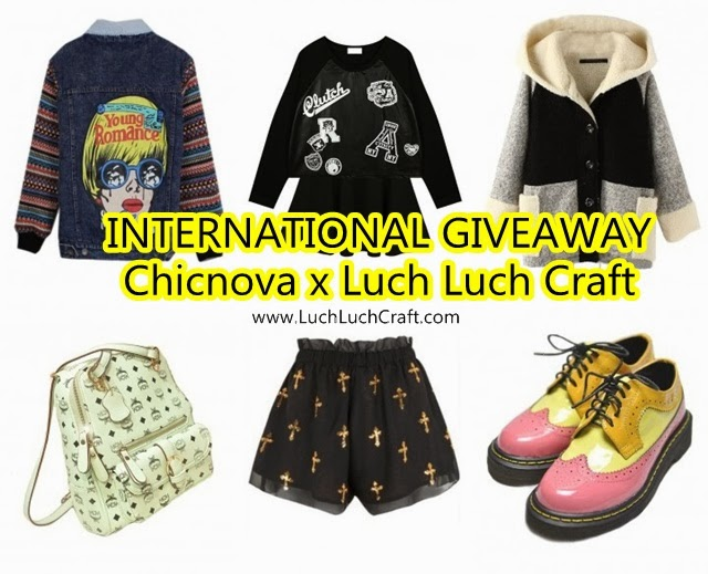 INTERNATIONAL GIVEAWAY - Chicnova x Luch Luch Craft