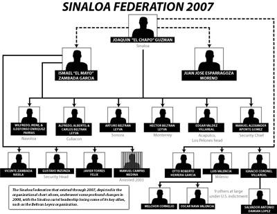 Cartel De Sinaloa Structure