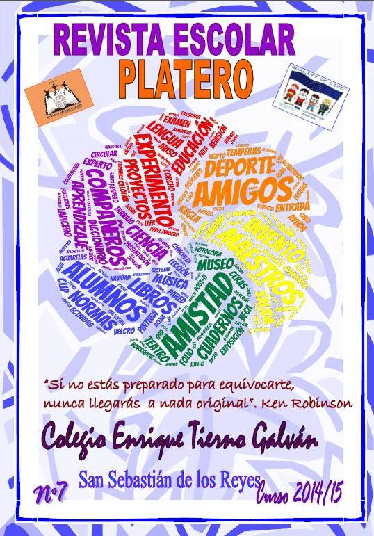 El aula de Javier: Revista escolar Platero, libro de ... - photo#27