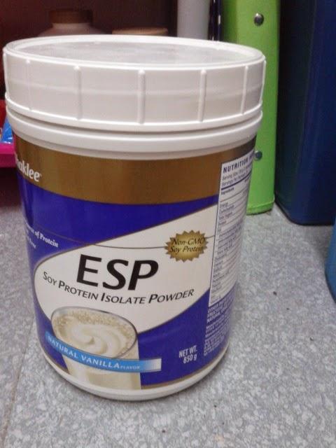cara bancuh ESP
