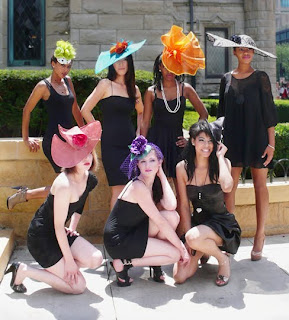 Joy Scott Millinery Hat designs.