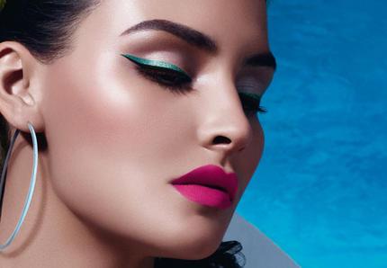 KIm kardashian make up inspired