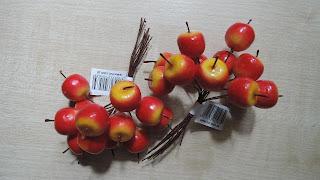 Яблоки фурнитура для дерева из бисера