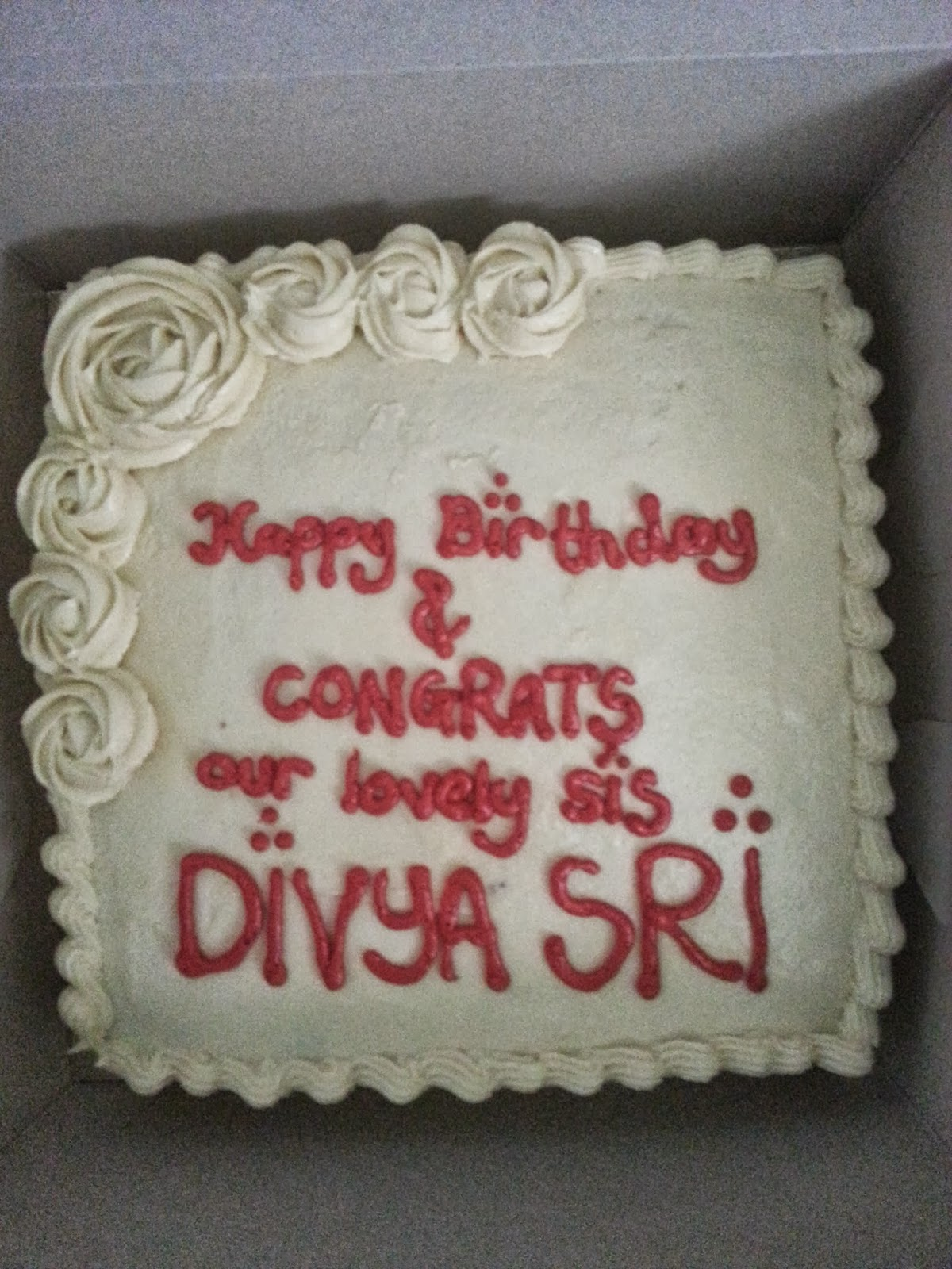 Cake Images With Name Divya : Birthday cake images with name divya