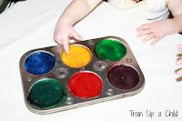 Edible Sensory Paint Recipe