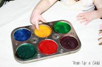 Edible Sensory Paint Recipe