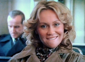 Agnetha in the video. Minx.