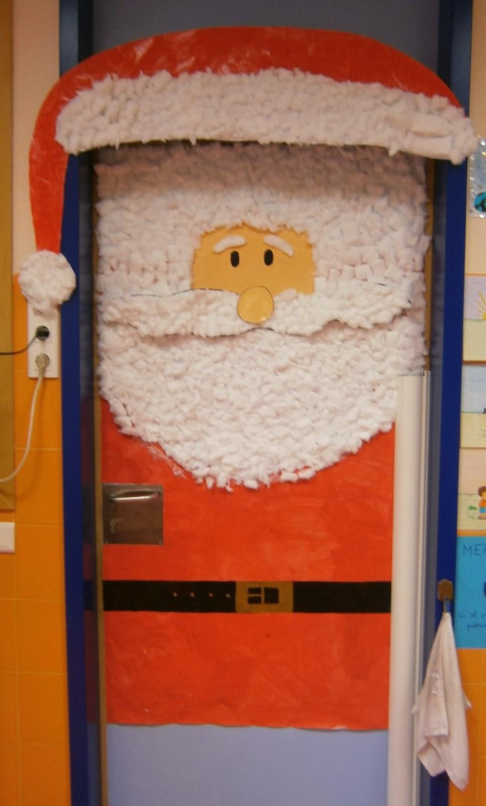 Mi sala amarilla recursos para navidad new style for for Fotos de puertas decoradas de navidad