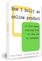 How I built an online product