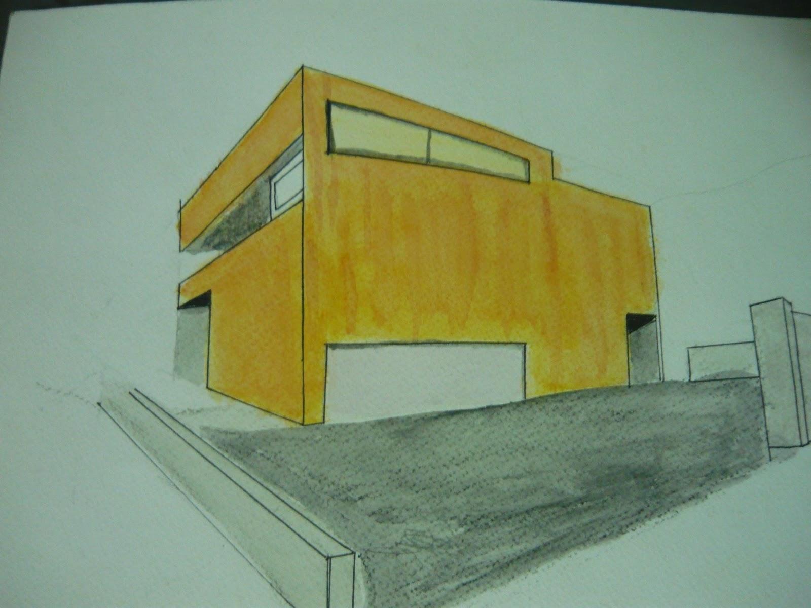 Dibujo iii acuarelas for Comedor para dibujar