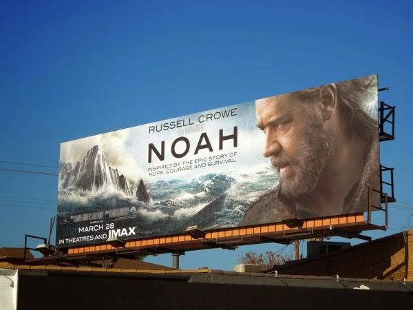 Noah film billboard