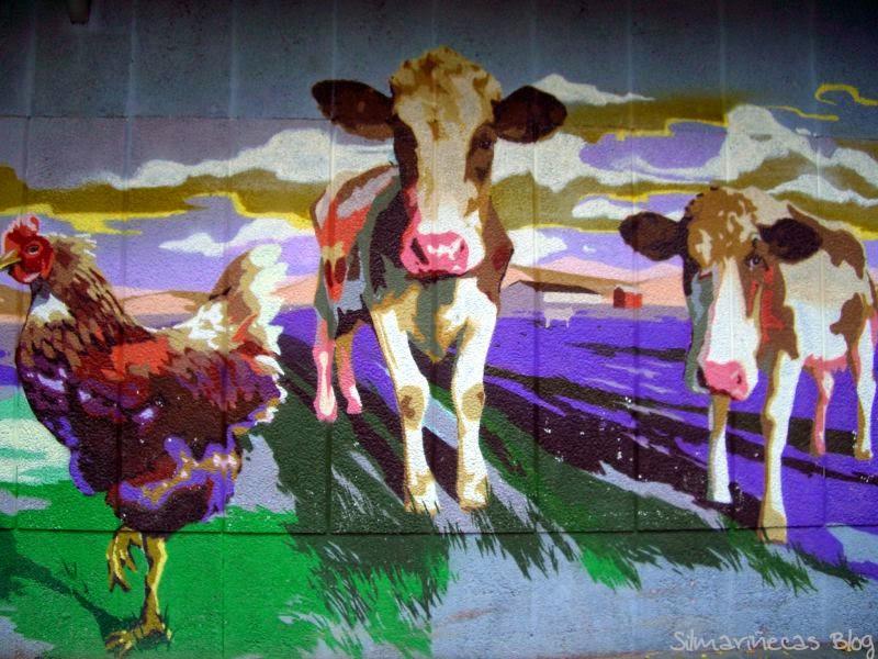 Mural del mercado de Zaramaga