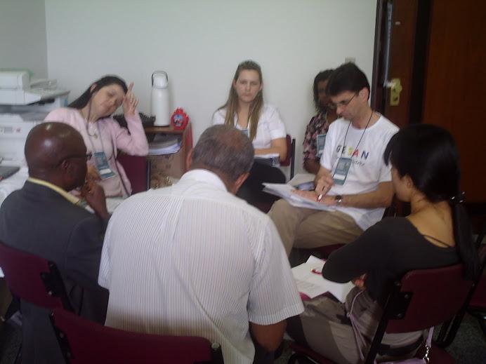 Comissão Organizadora da IV CESAN