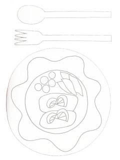 riscos para pintura de panos de prato