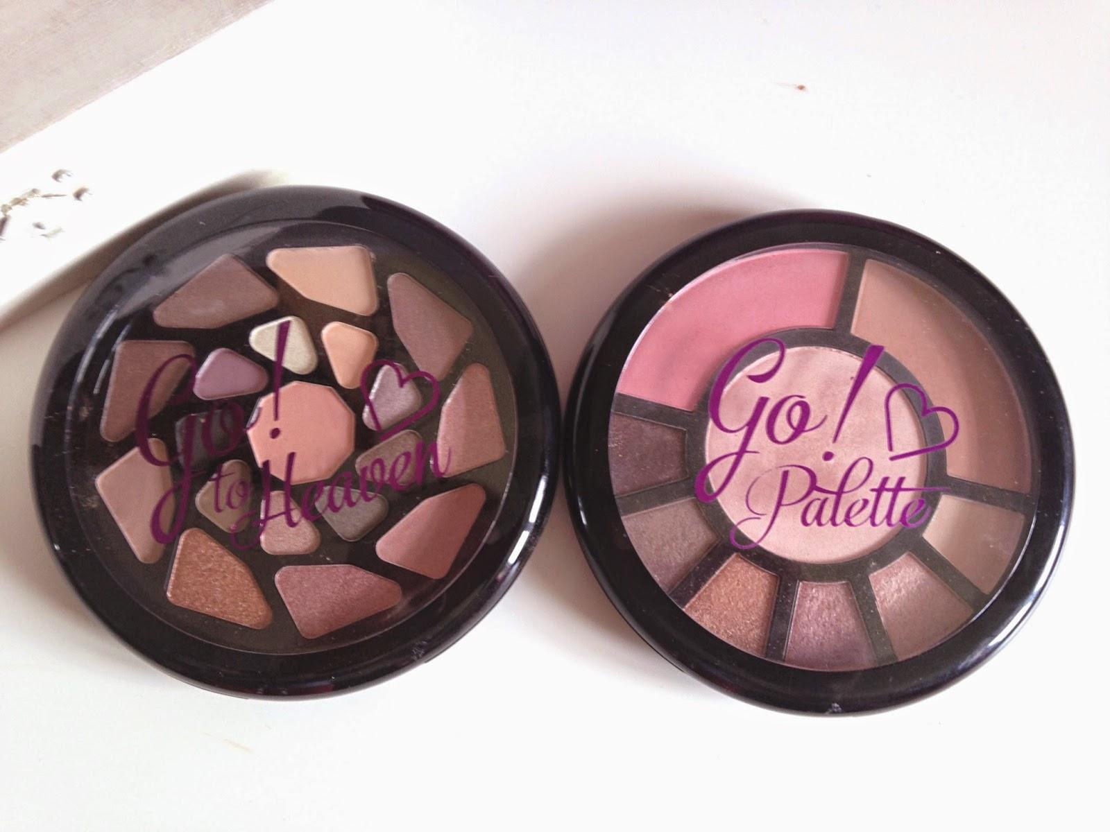 Makeup Revolution Go! Palettes