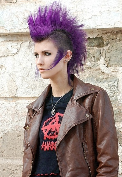 Devilinspired Gothic Punk Dresses How Does Gothic Punk Hairstyle Look Like