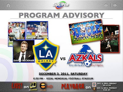 AZKALS vs LA Galaxy
