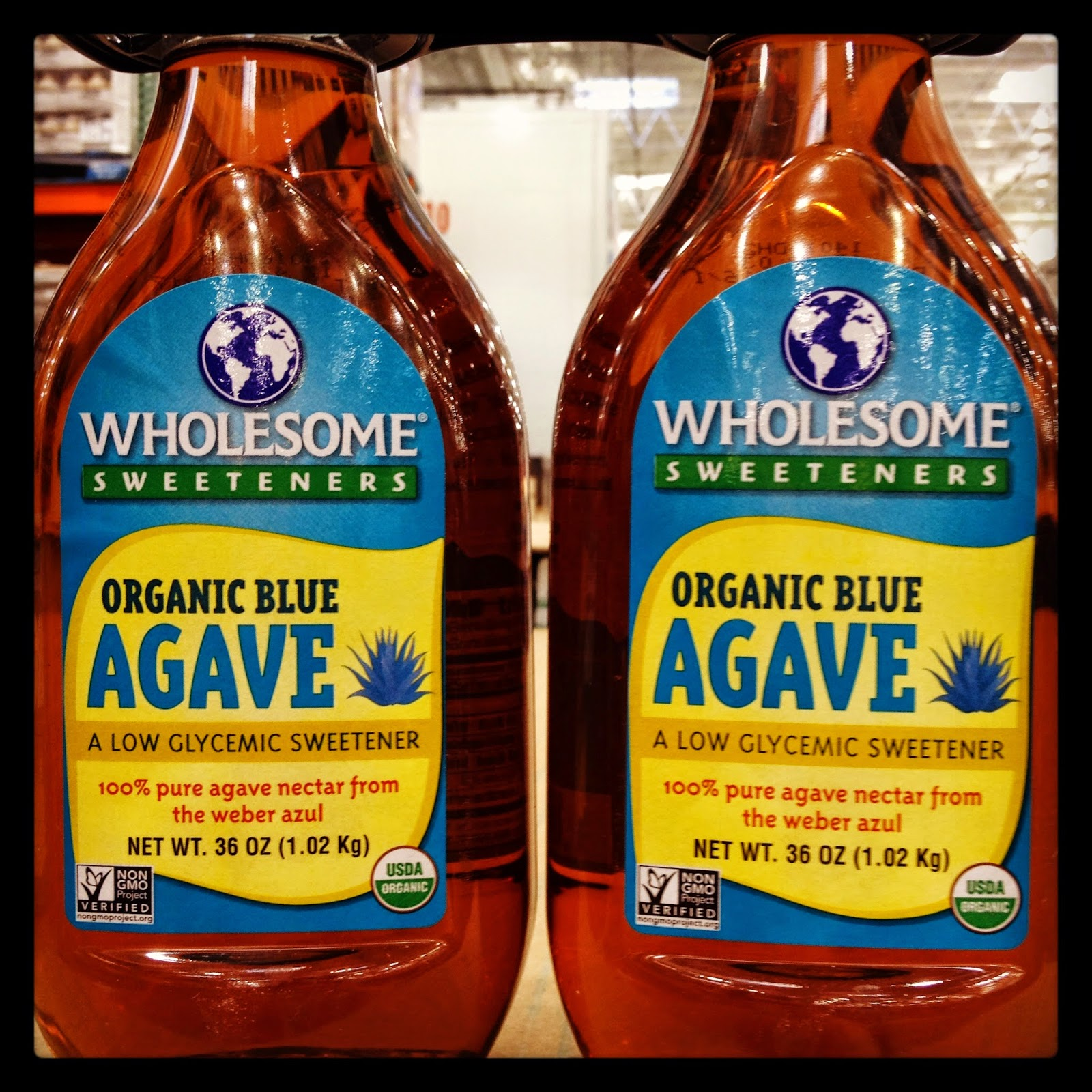 Wholesome Sweeteners Vegan Organic Blue Agave Nectar Sweetener