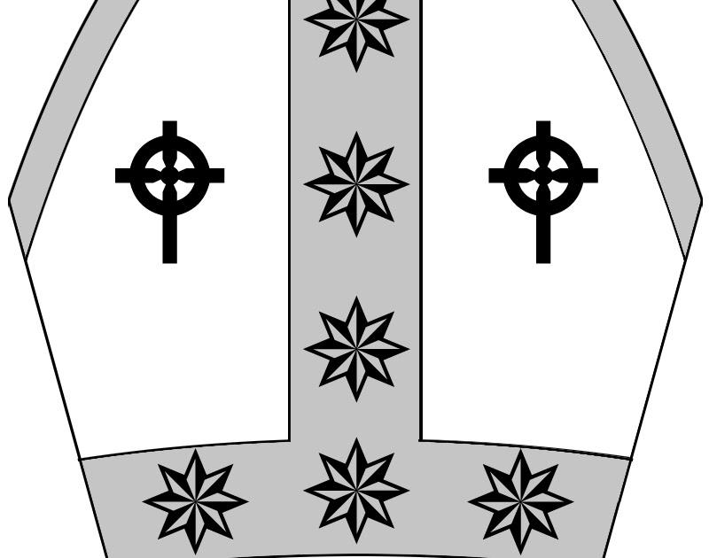 Columbias Closet Papal Hat Cut Out