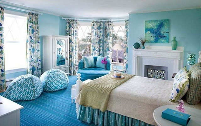 Light Blue Bedroom Decorating Ideas