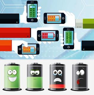 Por qué se agotan las baterías de un móvil