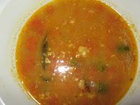 Sambar, Dal, Pumkin Curry, Rice
