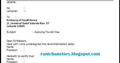 Rani Chan Story Cara Mengurus Visa Korea Selatan