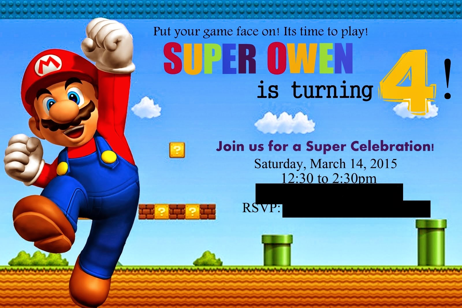 Pinterest and the Pauper!: Super Mario Birthday Party!!!