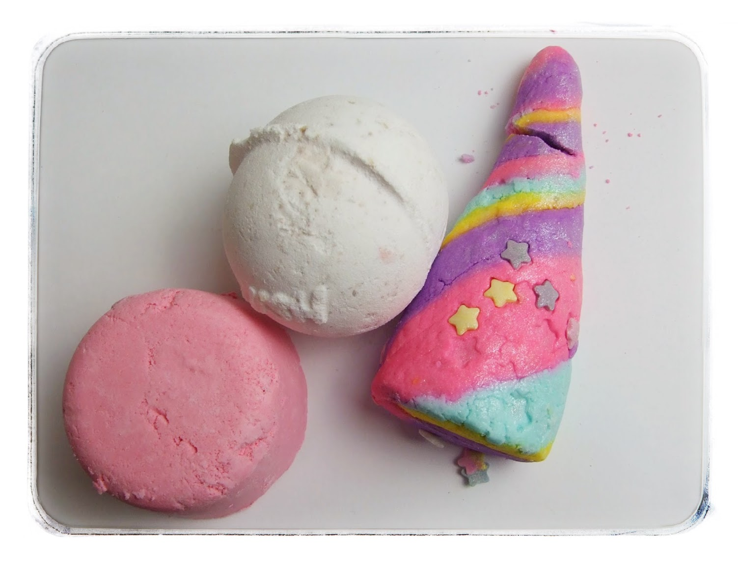 lush haul beauty blog review unicorn horn butterball melting marshmallow bath bomb