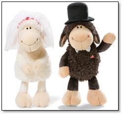 Una historia de amor en el Día de San Valentín: La Oveja Jolly se casa