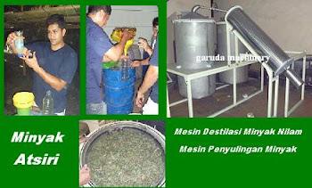 Mesin Destilasi/Penyulingan Nilam