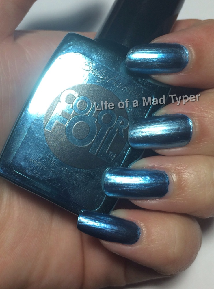 Sally Hansen ColorFoil Cobalt chrome