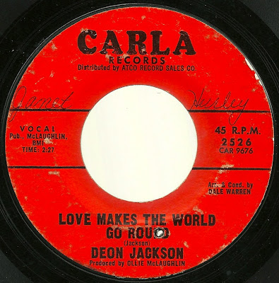 Deon Jackson - Love Makes The World Go Round - You Said You Loved Me