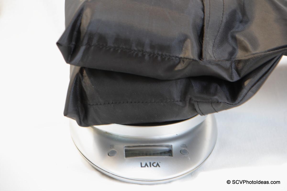 Sand sack weighing