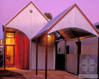 Casa pequeña y económica en Australia